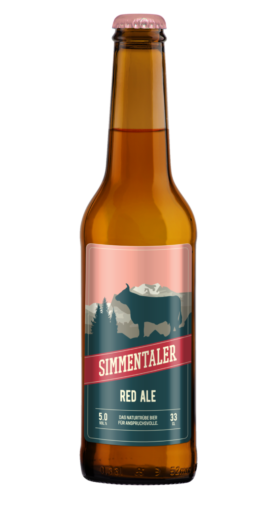 Red Ale Simmentaler Bier